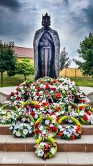 Socha sv. Štefana je tu od roku 2001
