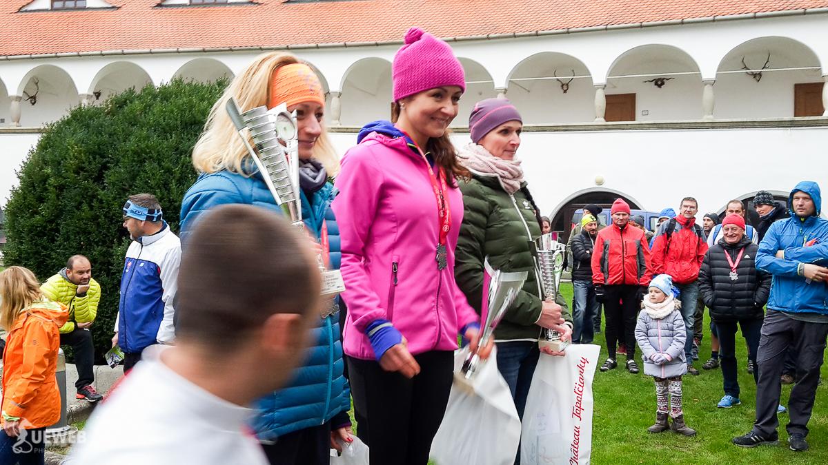 Danielka Kalužná, víťazka kategórie žien 40+