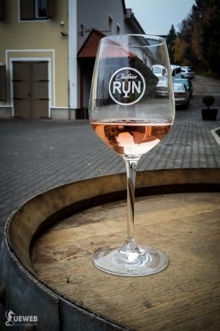 Krásny pohár s výborným vínom
