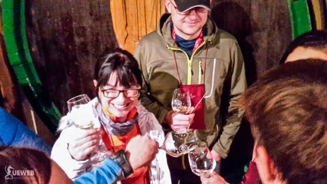 Momentka z degustácie vín na afterpárty
