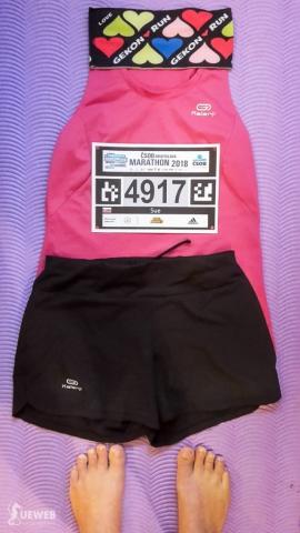 Moj outfit na nedeľňajší polmaratón