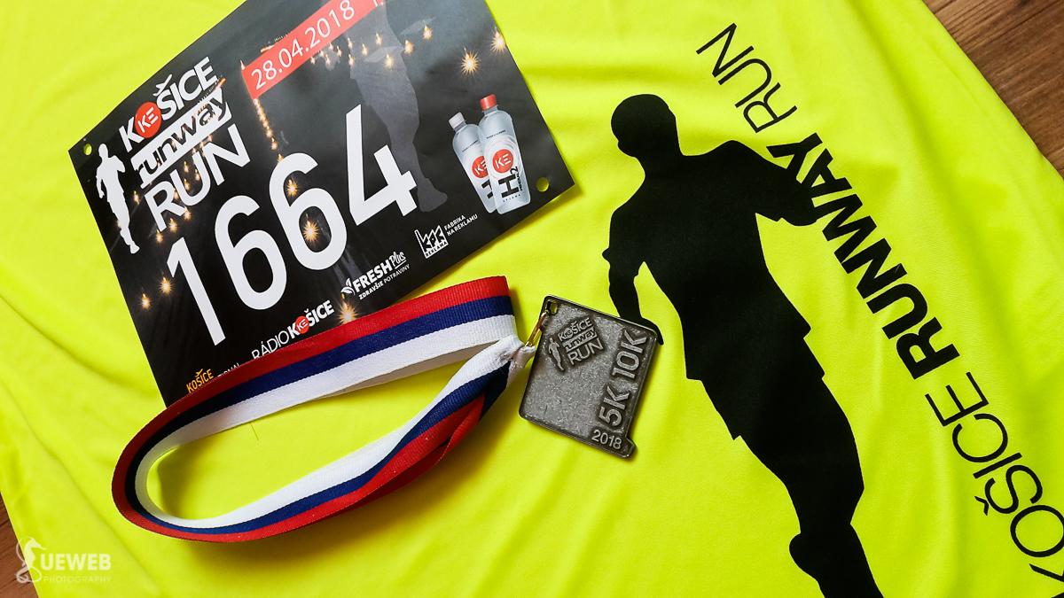 Tričko, číslo a medaila budú pripomínať krásny zážitkový beh