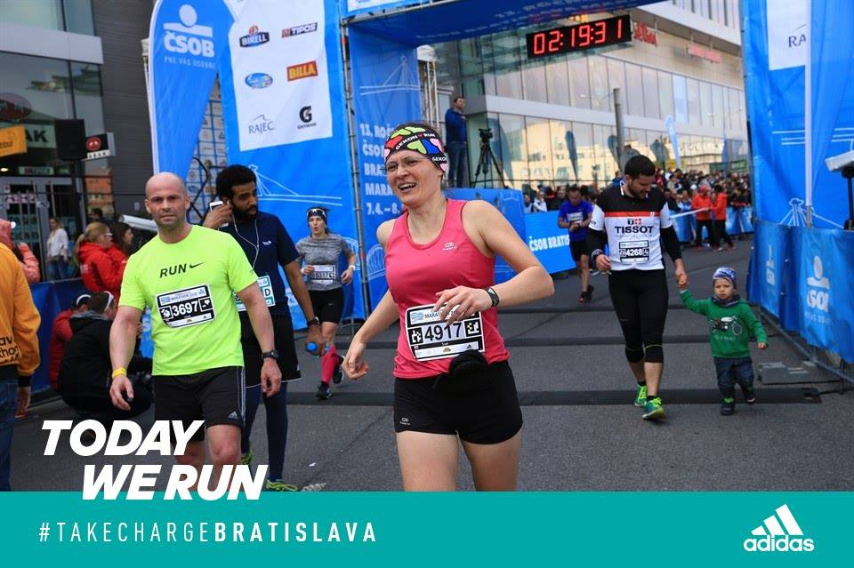 Šťastne v cieli; foto: Bratislava marathon