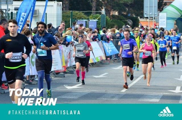 Záverečný finiš do cieľa; foto: Bratislava Marathon