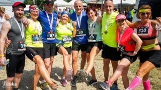 Bežecká rodinka po pretekoch