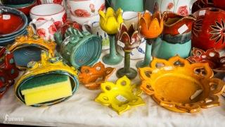Krásne výrobky šikovného keramikára