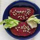 Šošovicovo-cviklová nátierka (vegan & gluten free)