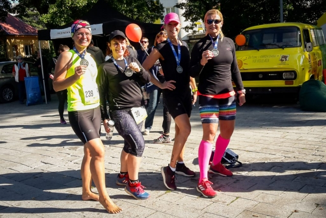 S Jankou, Ankou a Ikou v cieli pretekov
