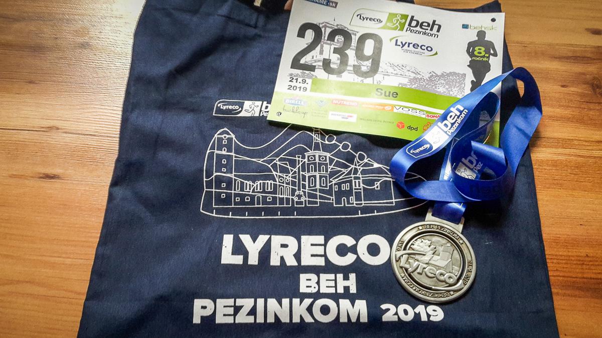Spomienka na 8. ročník Lyreco Beh Pezinkom 2019